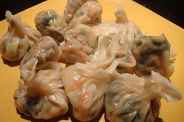 Asian Style Veggie Wontons